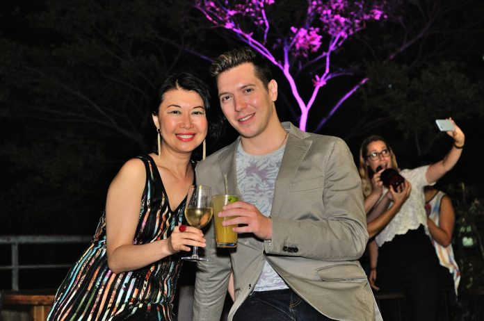 Launch party of the Grove Rooftop Bar at Novotel Sydney Central.