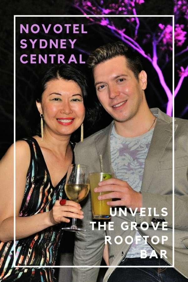 Novotel Sydney Central Grove Rooftop Bar