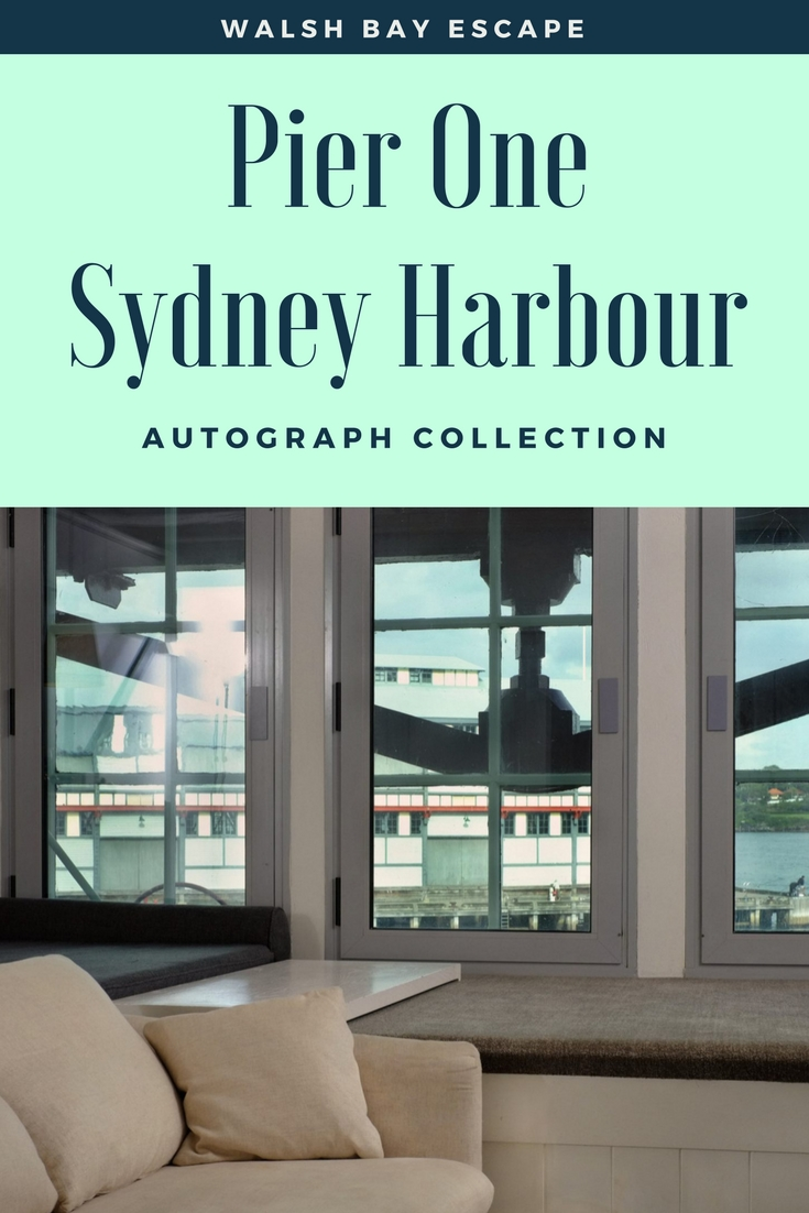 White Caviar Life luxury hotel review of the Pier One Sydney Harbour, Autograph Collection.