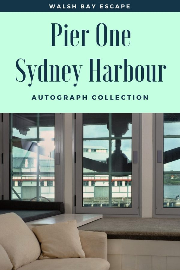 Pier One Sydney Harbour, Autograph Collection hotel review by White Caviar Life.