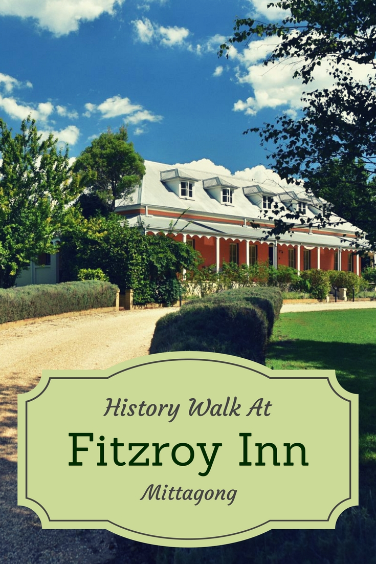 Fitzroy Inn's History Walk review by White Caviar Life.