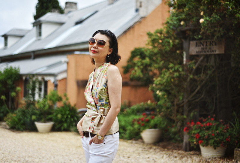 White Caviar Life fashion story on location at the Fitzroy Inn, Mittagong.