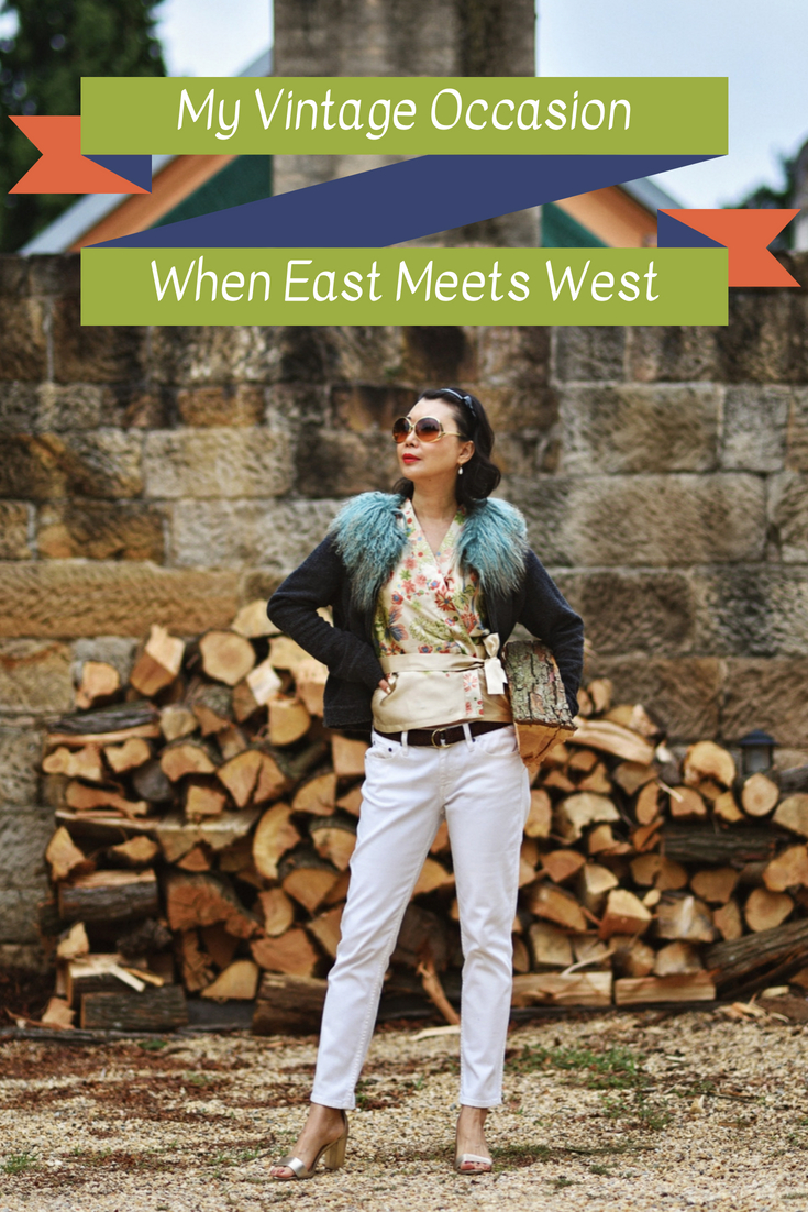 East meets West fashion styling and story by White Caviar Life.