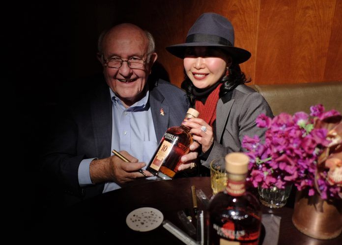 Russell's Reserve Small Batch Bourbon Launch at Four Seasons Hotel in Sydney.