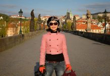 Charles Bridge photoshoot by Kent Johnson for White Caviar Life