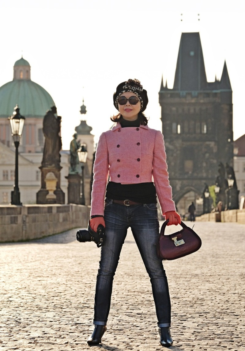 Charles Bridge location shoot by Kent Johnson for White Caviar Life.