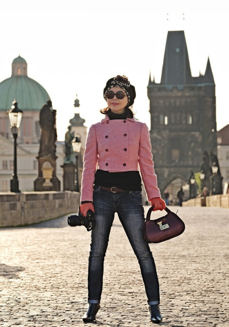 White Caviar Life Prague spring fashion story.