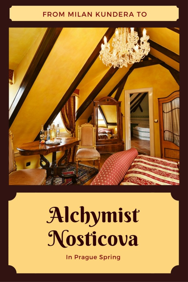 Prague's historical luxury hotel Alchymist Nosticova Palace review by White Caviar Life.