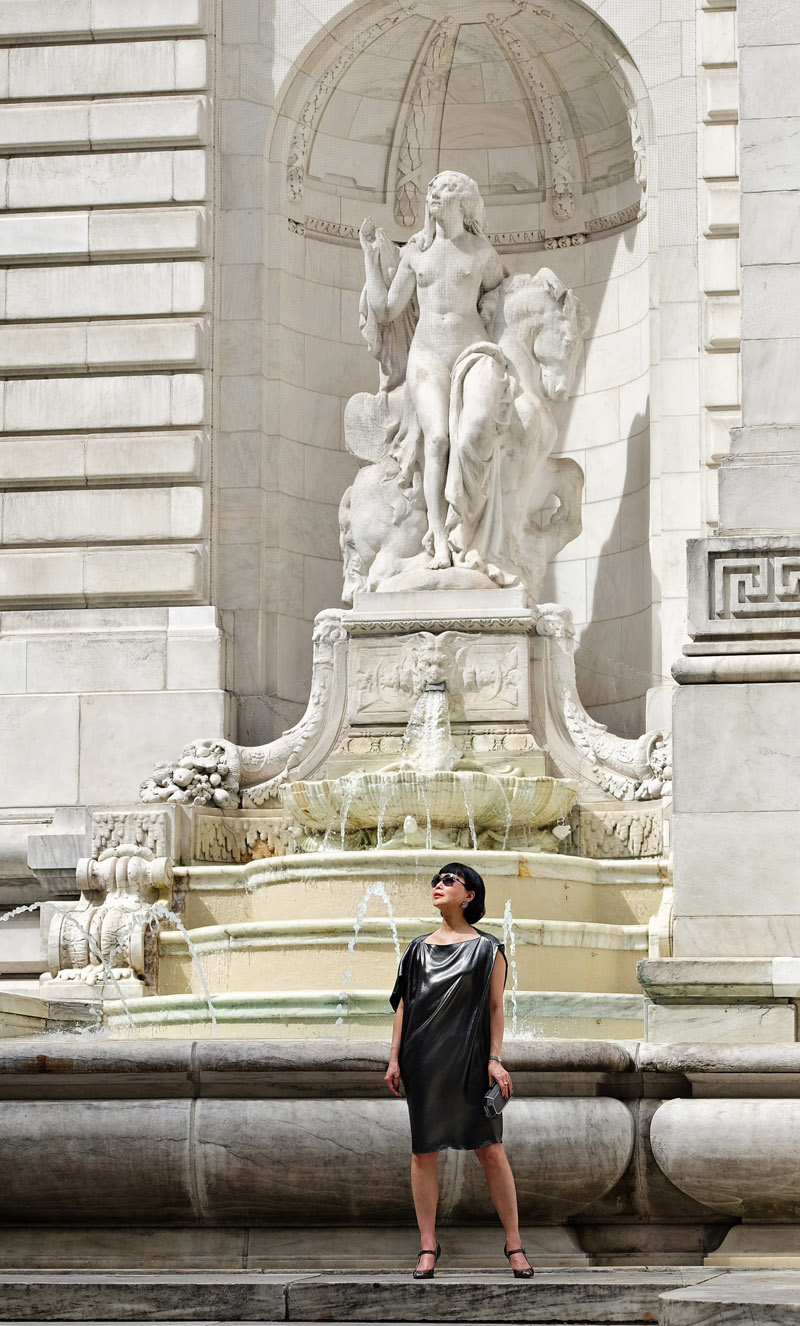 White Caviar Life New York Public Library photoshoot by Kent Johnson.