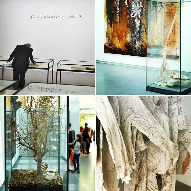 KIEFER RODIN exhibition in Rodin Museum.