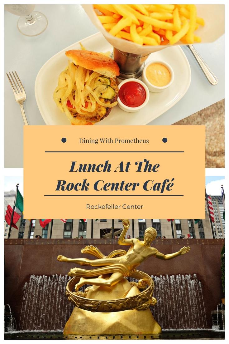 White Caviar Life food review of the Rock Center Café, Rockefeller Center.