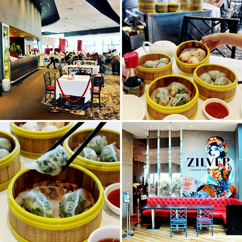 Yum cha in Zilver restaurant at Westfield Bondi Junction.