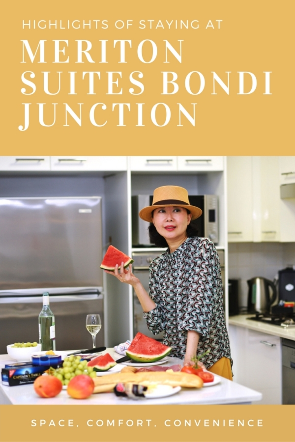 Sydney luxury serviced apartment Meriton Suites Bondi Junction, reviews by White Caviar Life.