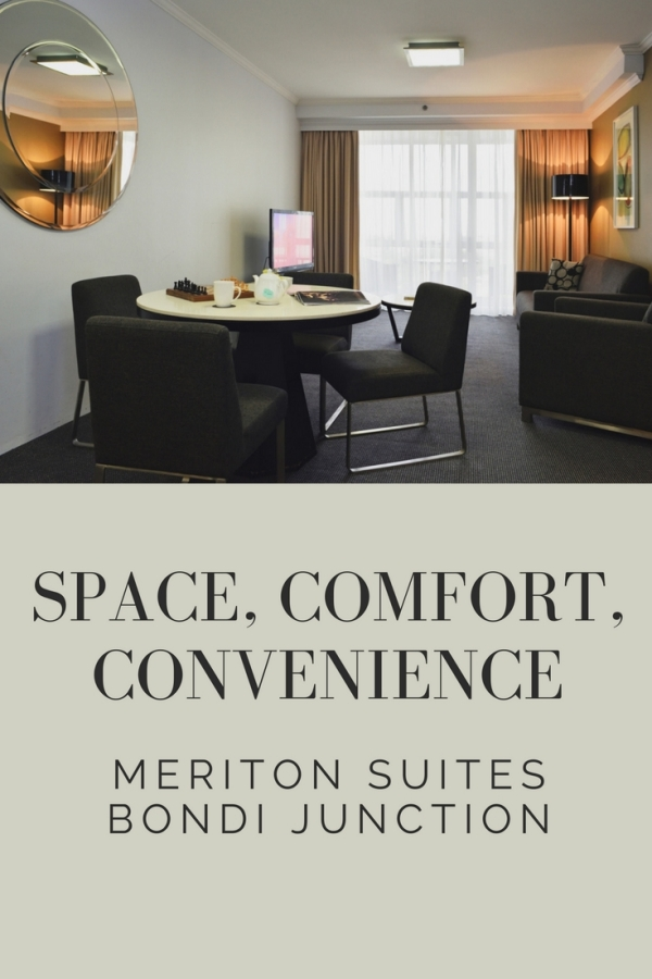 Sydney serviced apartment Meriton Suites Bondi Junction, reviews by White Caviar Life.