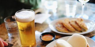 Food review of Dumplings and Beer on Stanley.