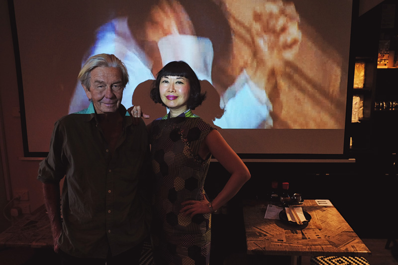 Brett Hilder and Vivienne Shui at the D&B on Stanley.