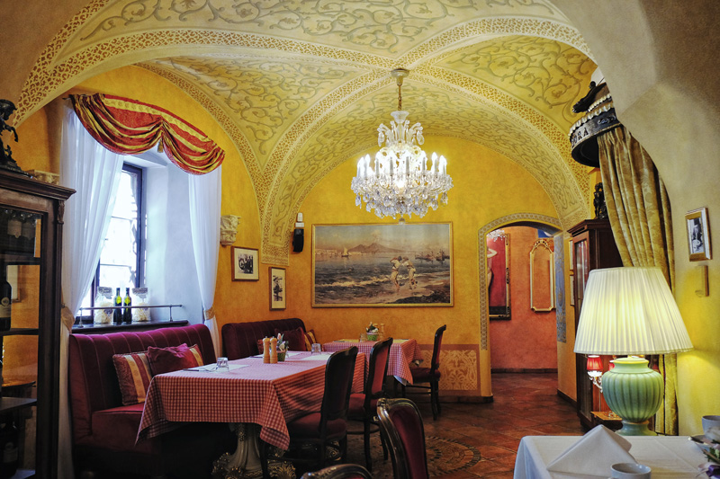 San Carlo Malá Strana, Prague.