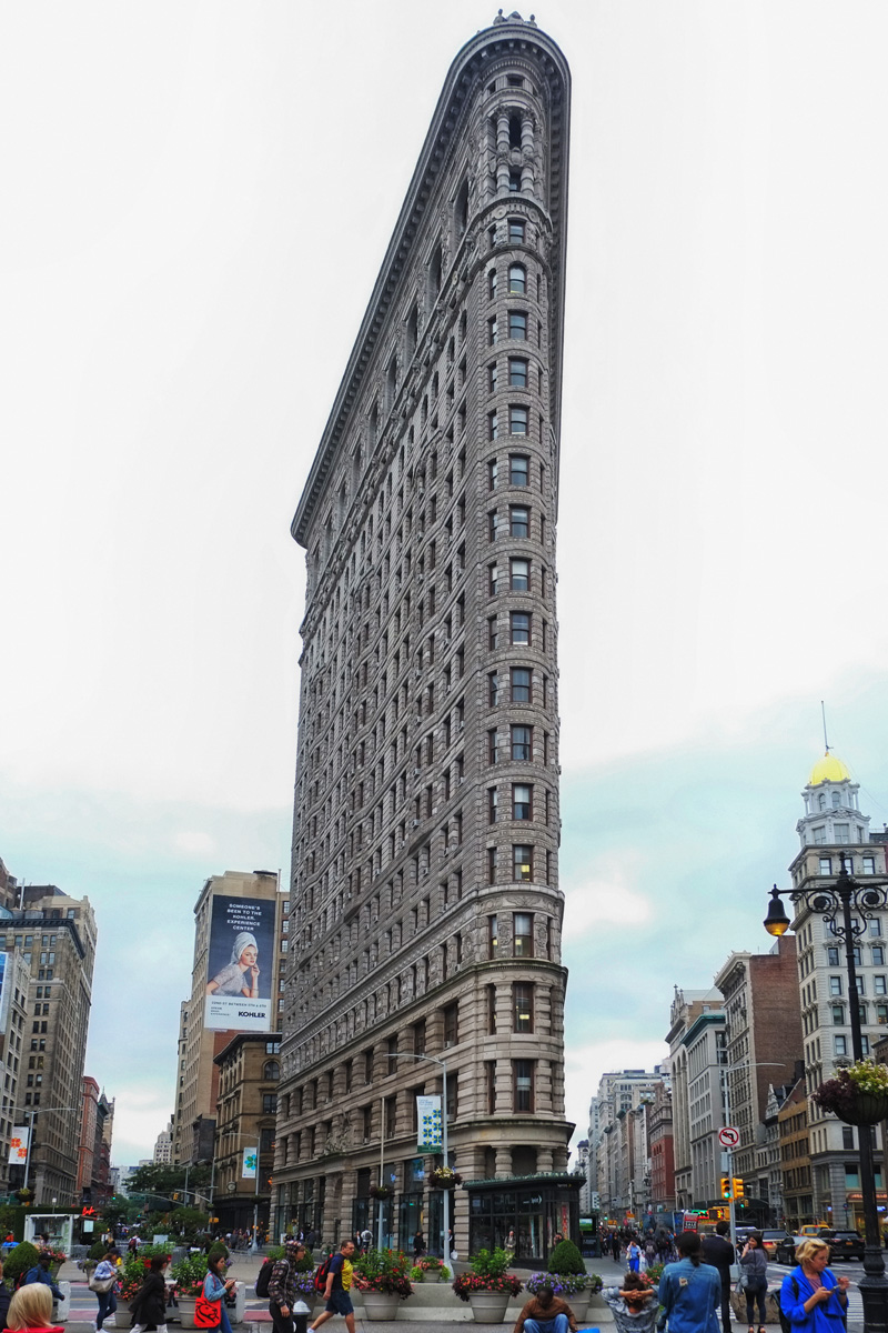 Flatiron Building by photographer Kent Johnson.
