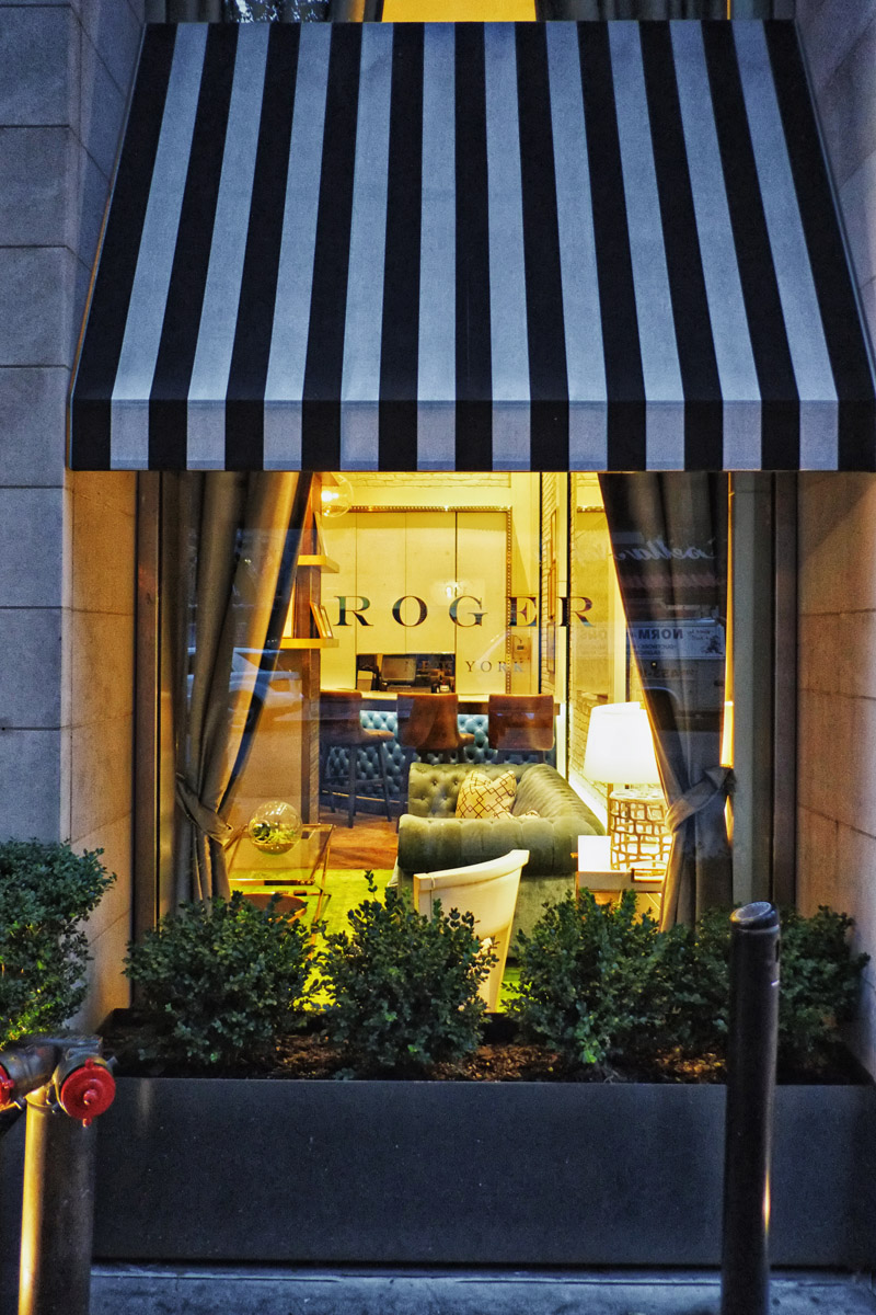 The Roger hotel in Midtown Manhattan.