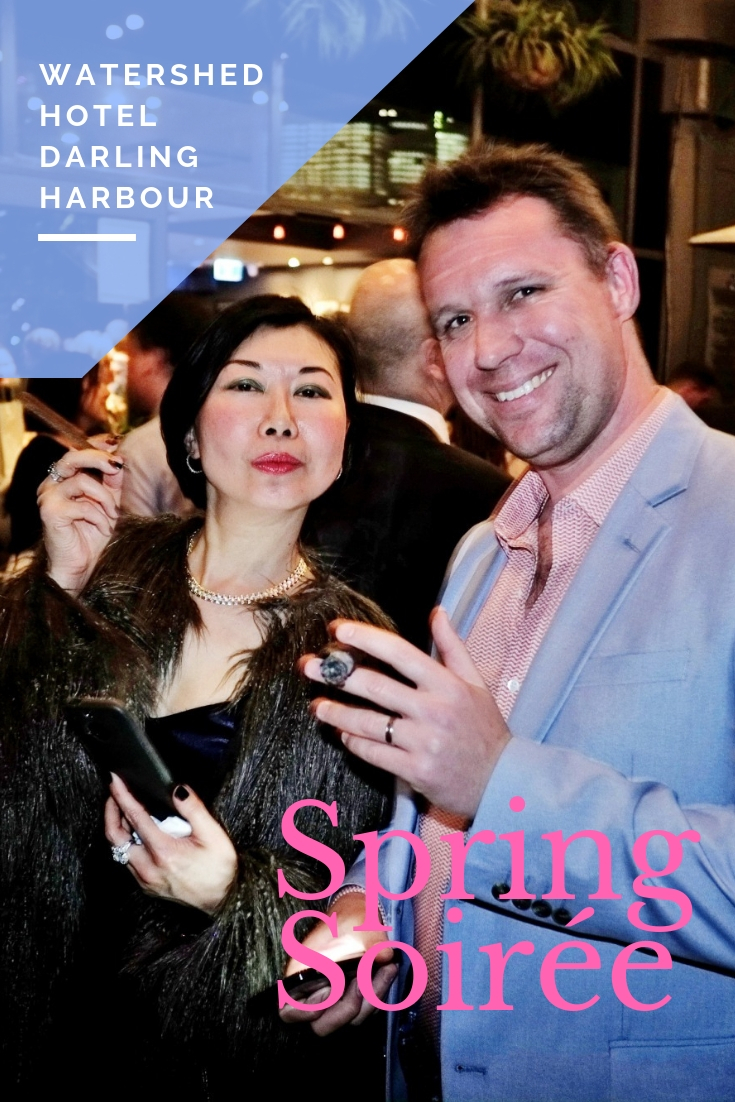 Spring Soirée at Watershed Hotel Darling Harbour.