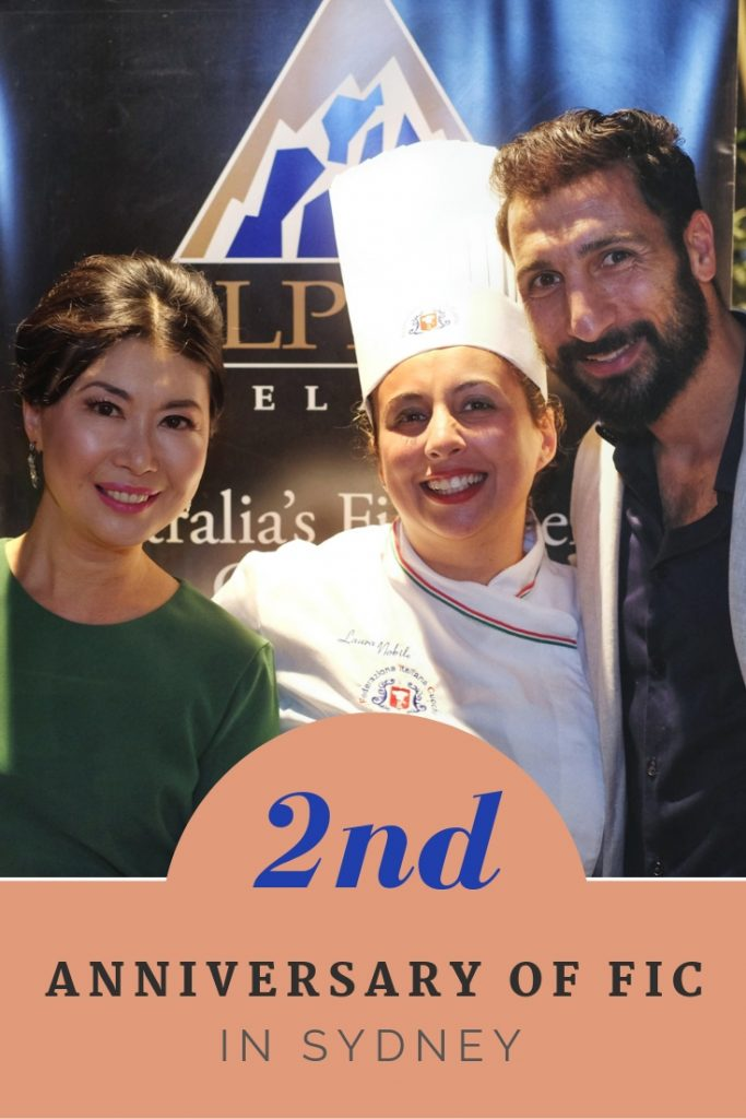 Second Annual of the Federation Italian Chefs Event in Sydney.
