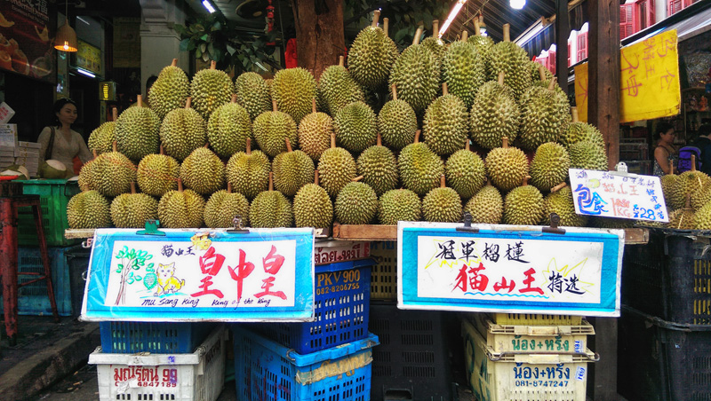 Where to find stinky durians in Singapore?