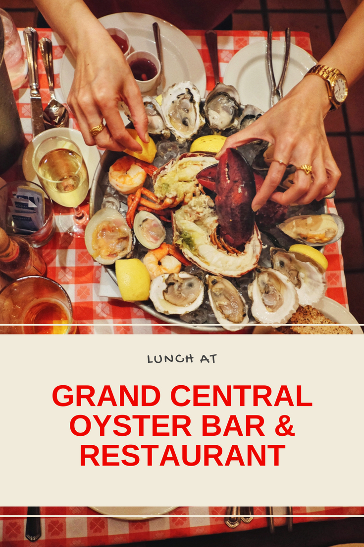 Grand Central Oyster Bar and Restaurant food reviews.