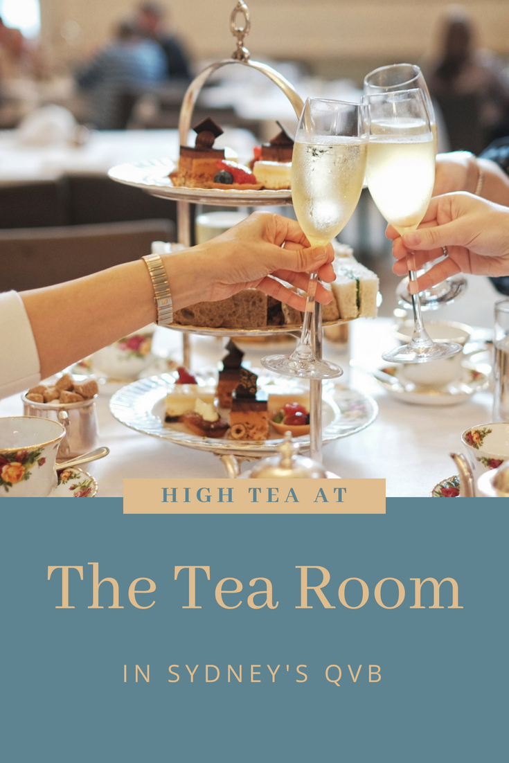 High tea reviews of The Tea Room in Sydney's QVB.