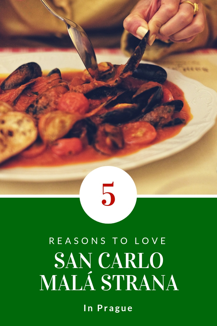San Carlo Prague Italian restaurant review by White Caviar Life.