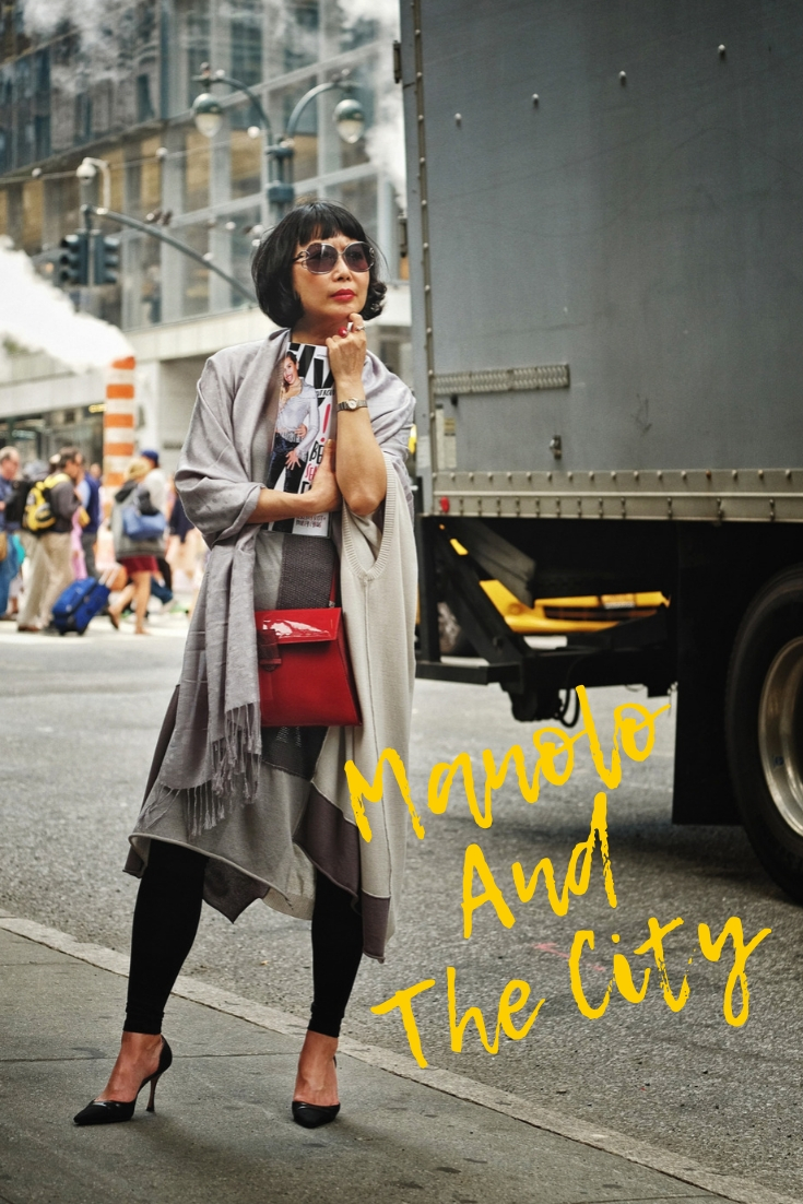 'Manolo and the City' Manhattan street style fashion shoot by Kent Johnson for White Caviar Life.