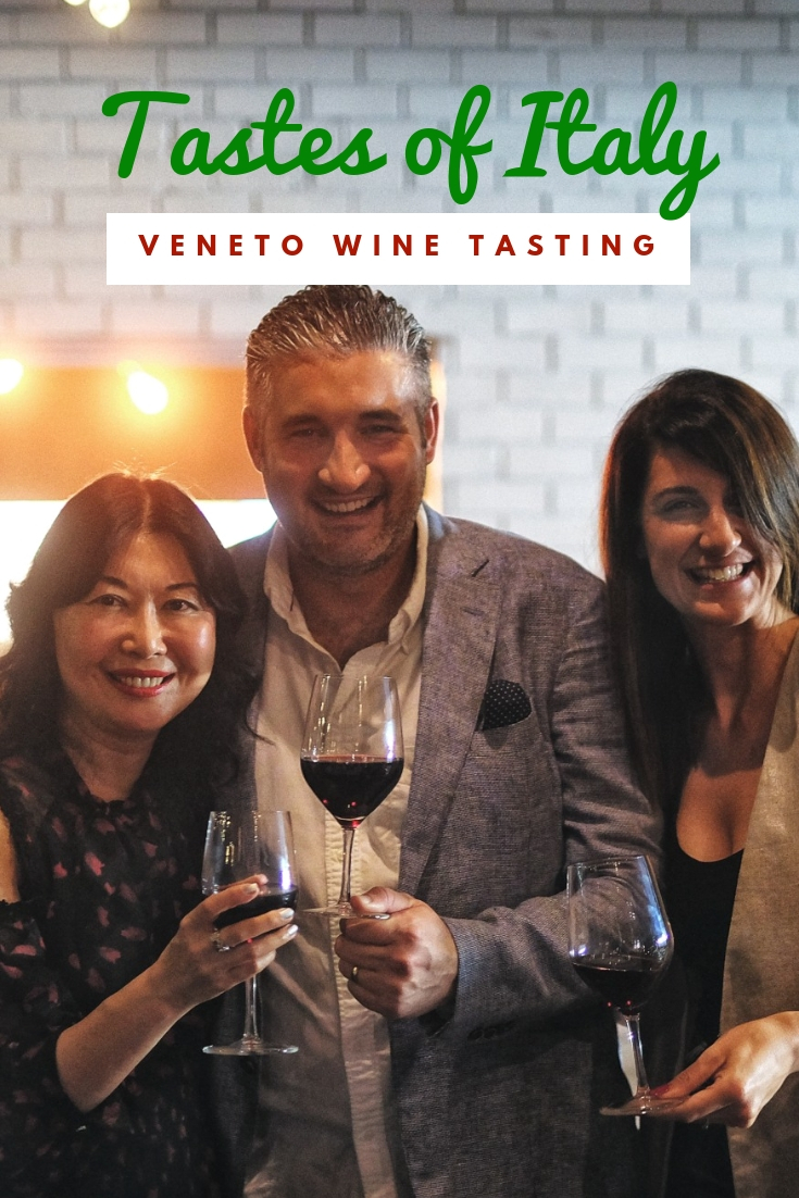 Veneto wine tasting at DOC Dining, Sydney. Event post by White Caviar Life.