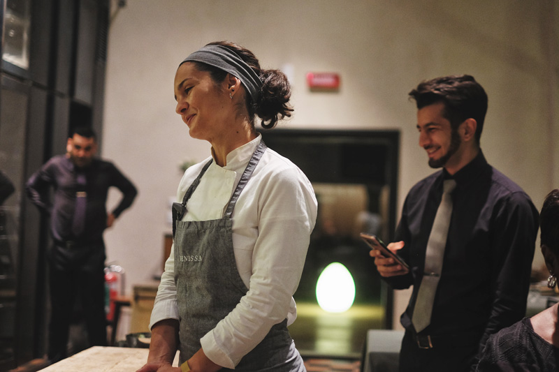 One-Michelin-starred restaurant Venissa and its Head Chef Chiara Pavan.