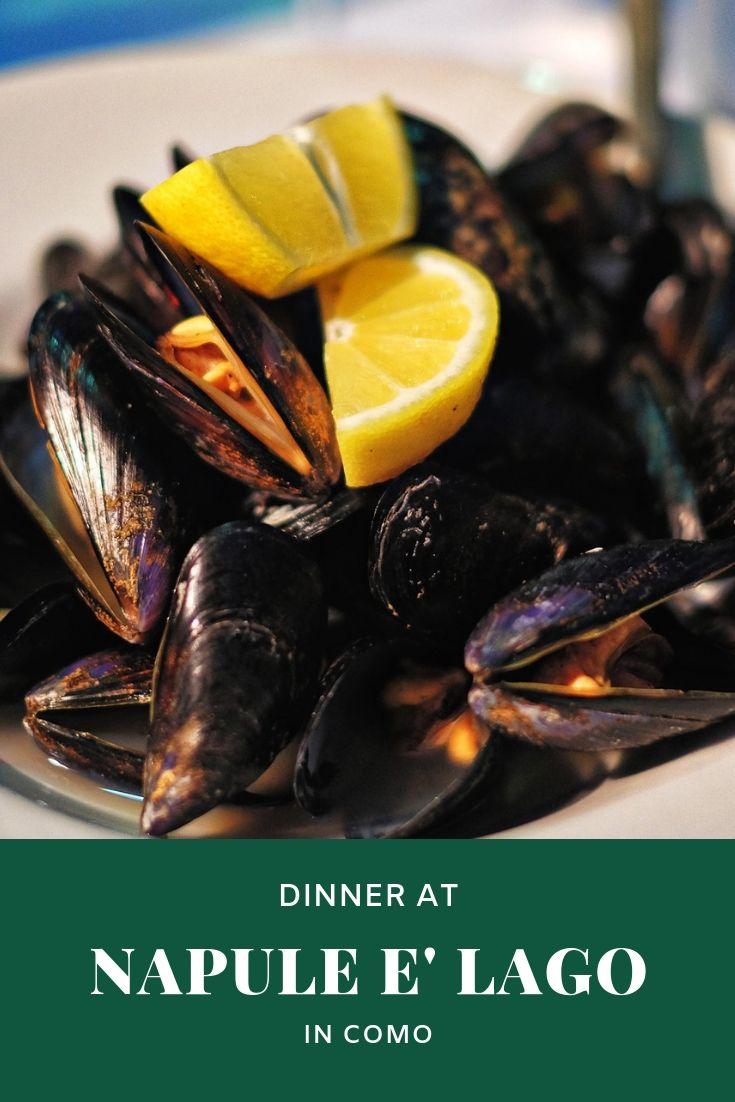 Napule è Lago in Como food review by White Caviar Life.
