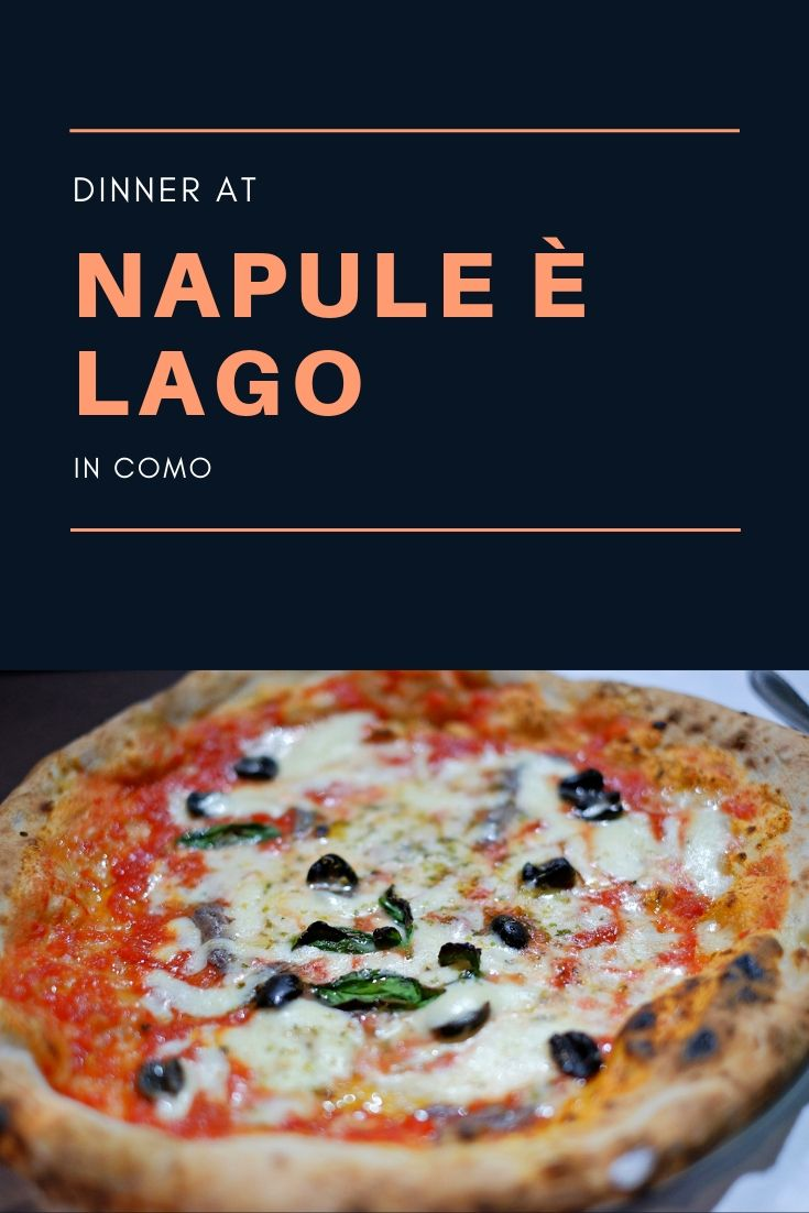 Napule è Lago in Como restaurant review by White Caviar Life.