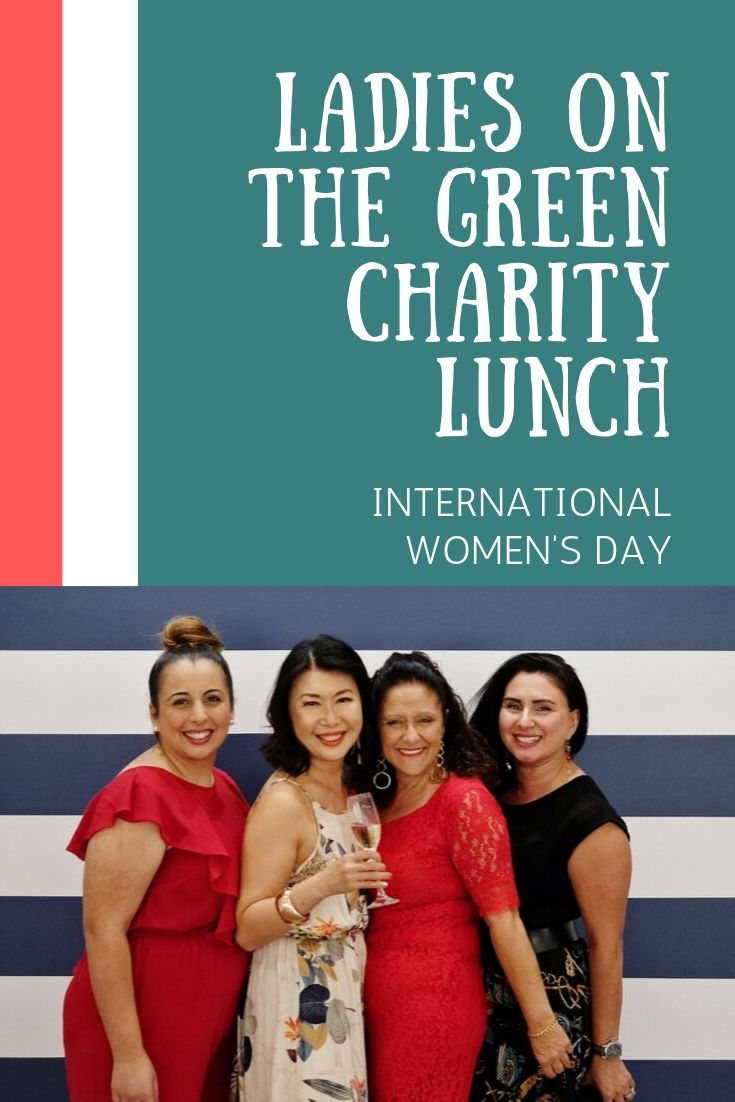 'Ladies on the Green' Charity Lunch. Event coverage by White Caviar Life.