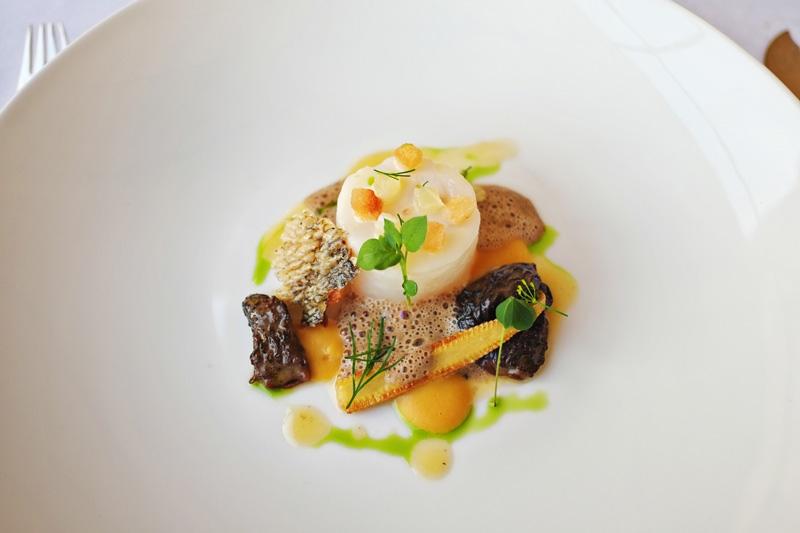 Le 1217 restaurant of Château de Bagnols food reviews.
