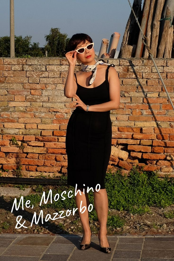 'Me, Moschino & Mazzorbo' fashion shoot on Venetian lagoon island Mazzorbo for White Caviar Life.