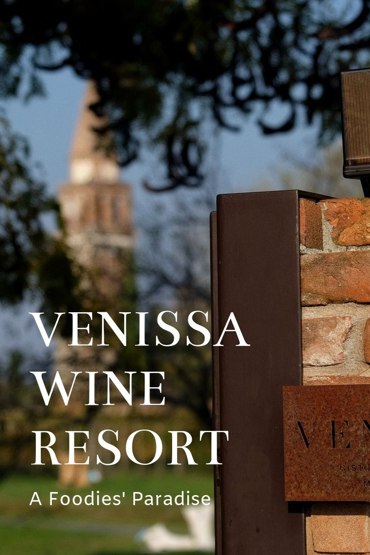 Venissa Wine Resort on Venetian island Mazzorbo; review by White Caviar Life.