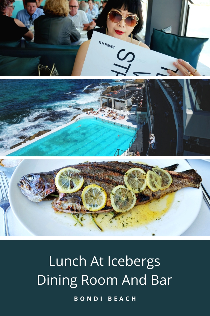Lunch at Icebergs Dining Room and Bar, Bondi Beach. Review by White Caviar Life.
