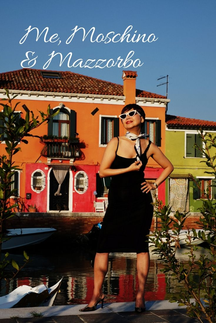 'Me, Moschino & Mazzorbo' fashion story by White Caviar Life. Location shoot on the Venetian lagoon island Mazzorbo by fashion photographer Kent Johnson.