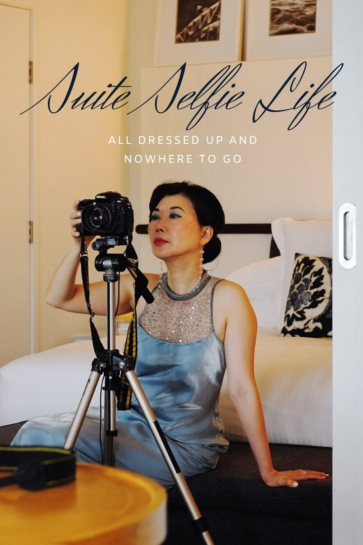 'Suite Selfie Life - All Dressed Up And Nowhere To Go' fashion story by White Caviar Life.
