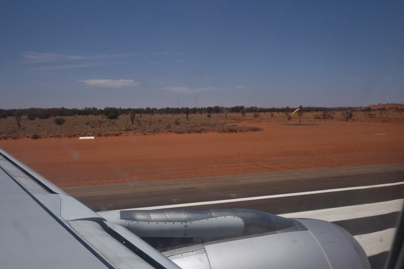 Flying directly to the Red Centre of Australia.