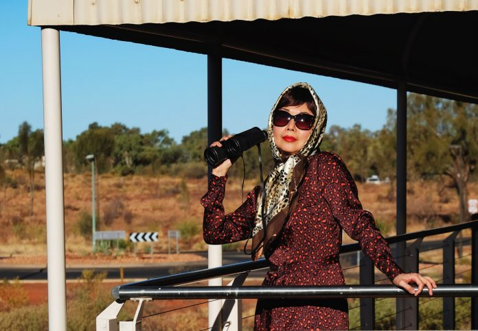 Uluru safari fashion story by White Caviar Life.