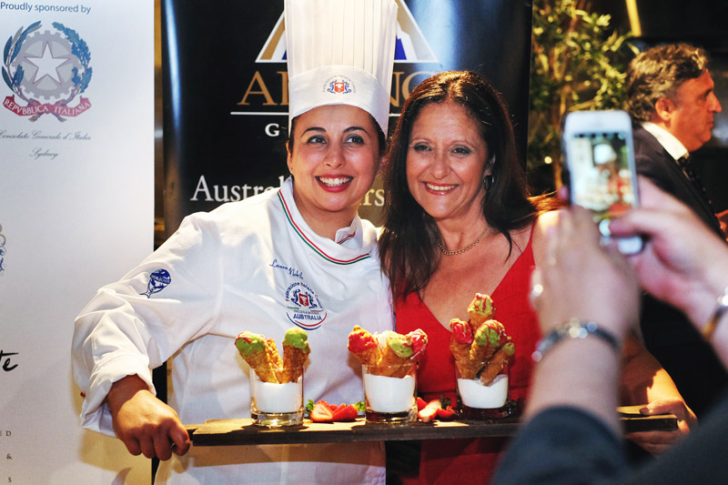 The Second Annual Federation Italian Chefs Event in Sydney.