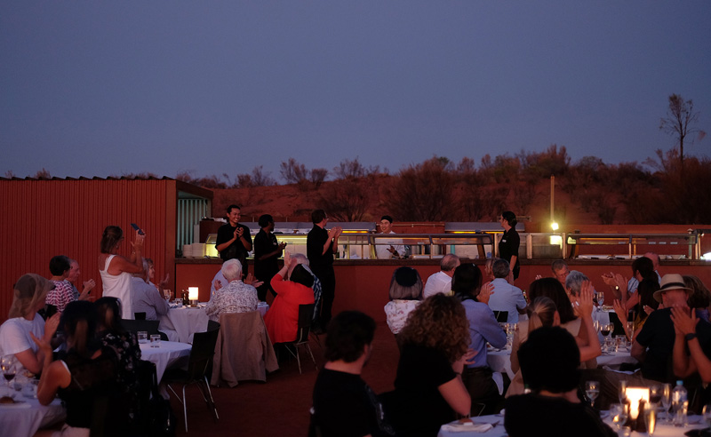 Voyages Sounds of Silence Dinner at Uluru review.