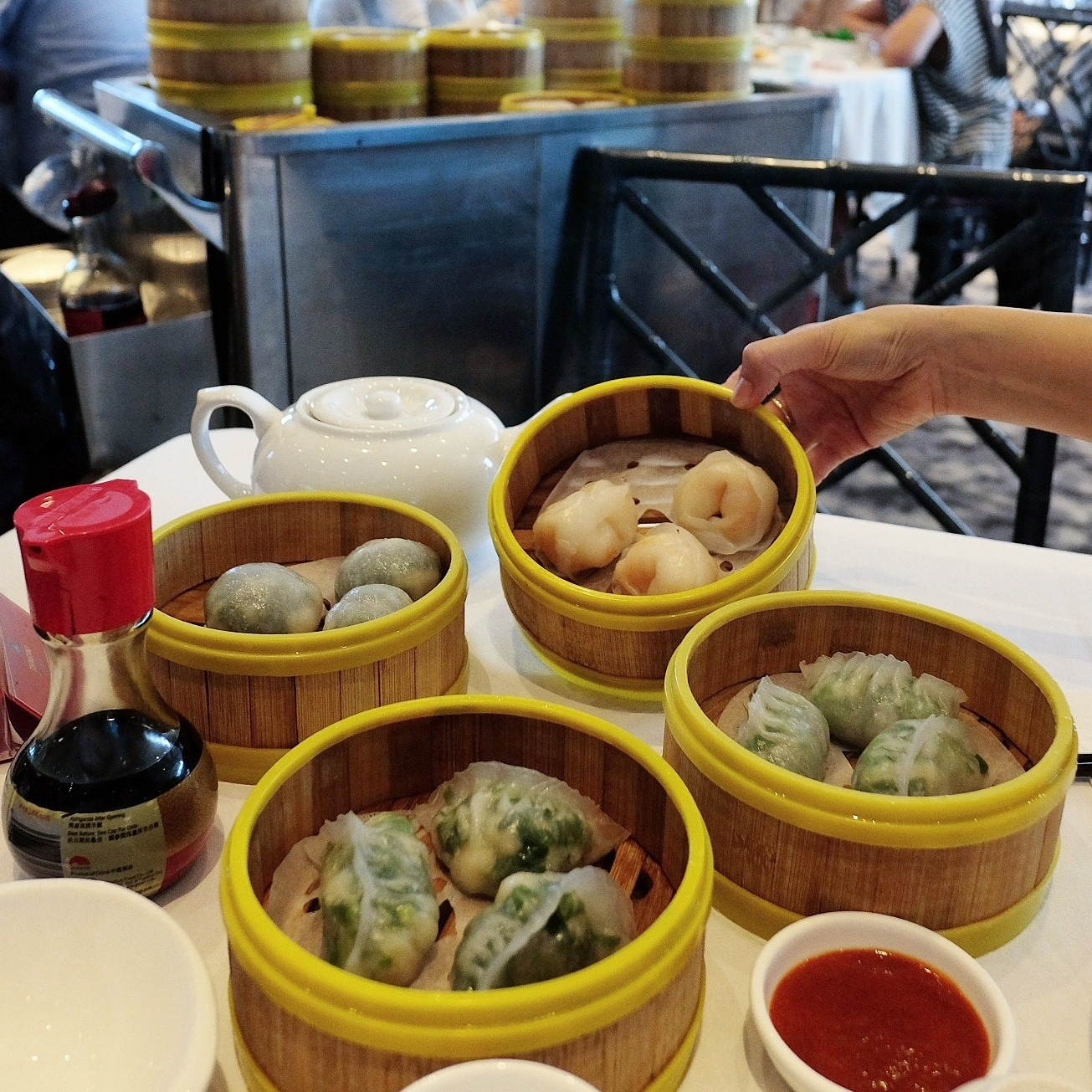 Zilver Chinese restaurant at Westfield Bondi Junction. Yum cha review by White Caviar Life.