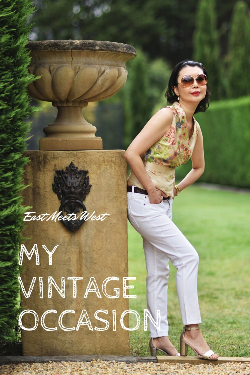 My Vintage Occasion - When East Meets West. Southern Highlands fashion portraits by Australian fashion photographer Kent Johnson.