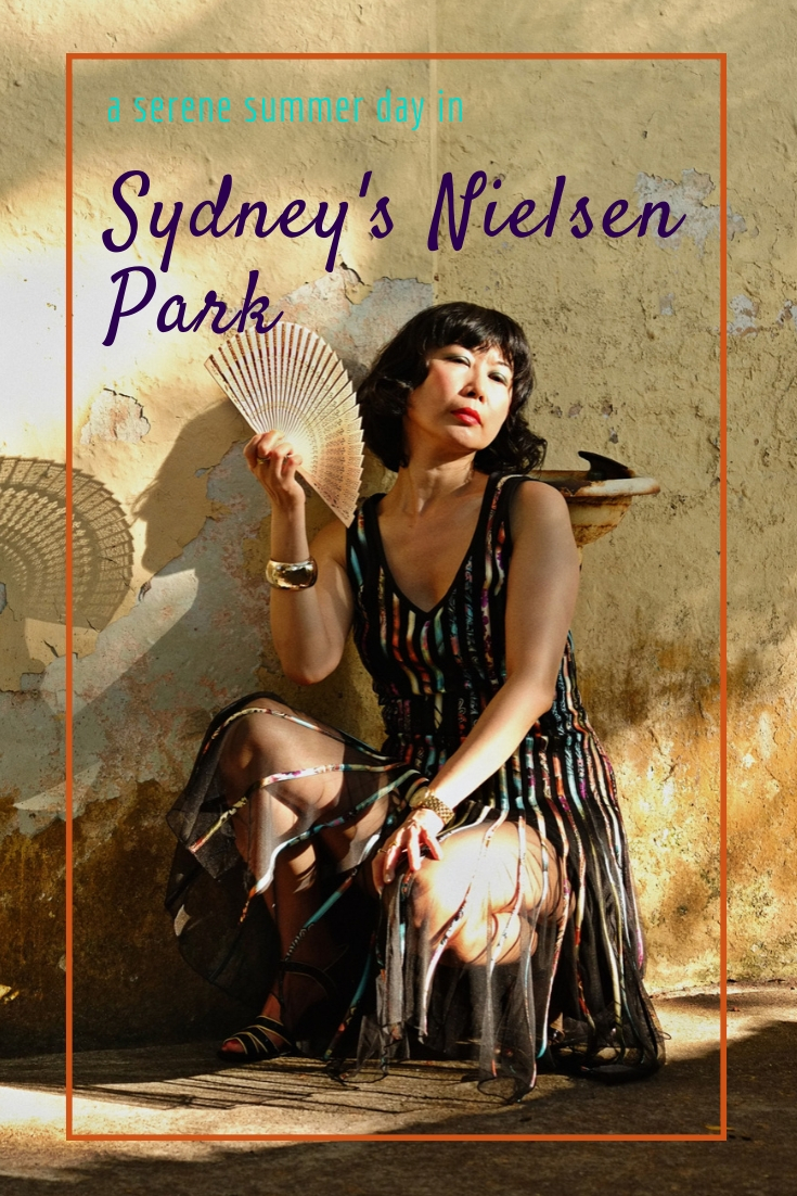 A Serene Summer Day in Sydney's Nielsen Park. Sydney's best outdoor location for portrait photography.
