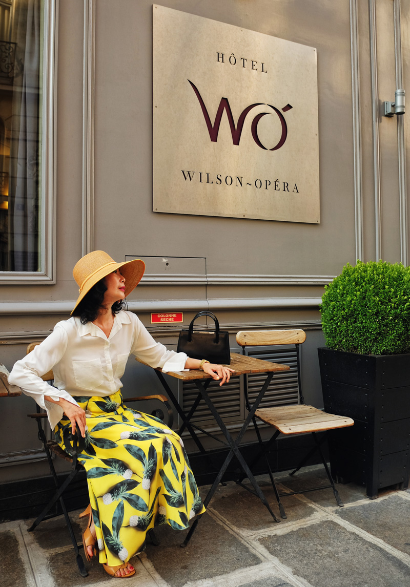 Hotel WO Wilson-Opéra, one of Paris' best boutique hotels review by White Caviar Life.