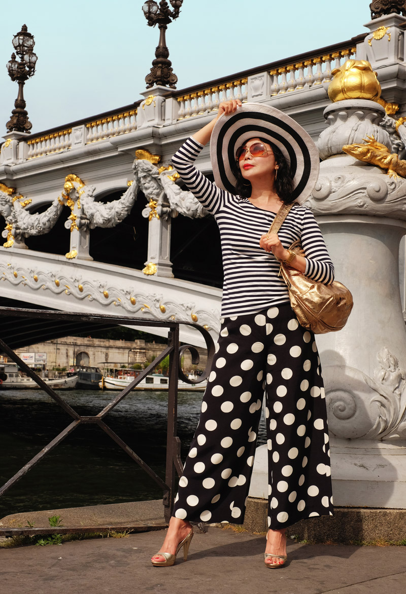 'If I Could Have Pont Alexandre III For A Single Hour' fashion story by White Caviar Life. Paris portraits by photographer Kent Johnson.